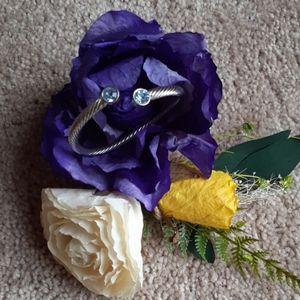 Bracelet with Light Blue Stone